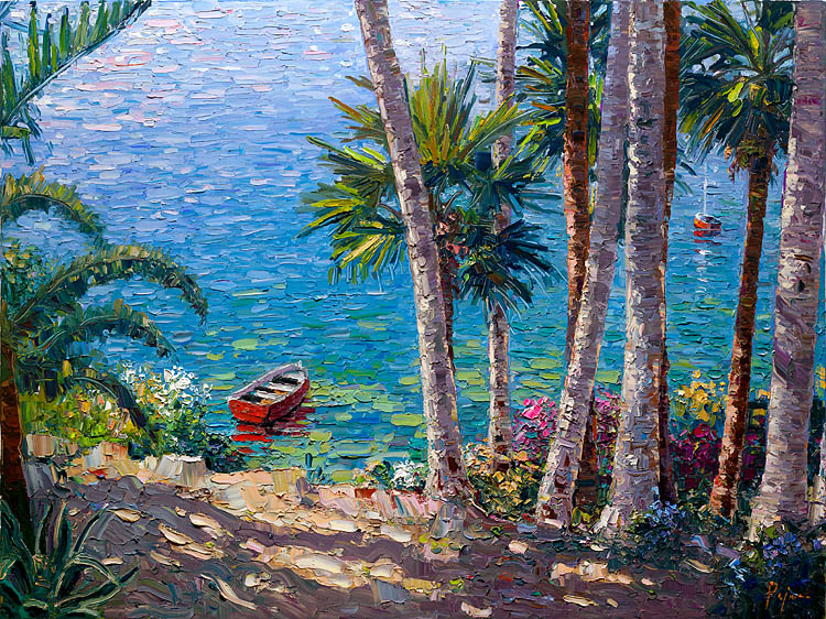 Bob pejman _ Laguna Beach with Red Baot