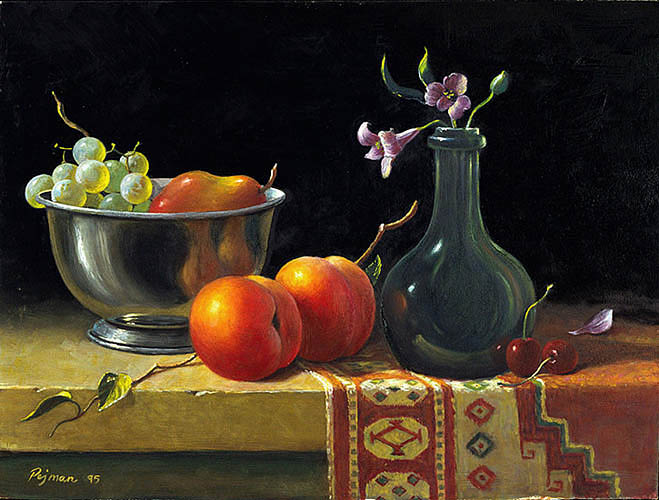 Bob Pejman - Still Life With Turkish Rug